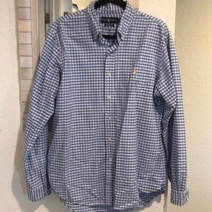 Button up Ralph Lauren shirt